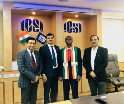 President Courtesy Visit to ICSI, Deldi, India 2019