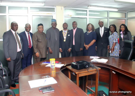 Visit to Financial Reporting Council of Nigeria in November 2019