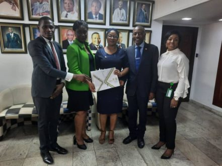 ICSAN Team with the X-Academy team of the Nigerian Stock Exchange…
